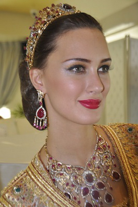Coiffure de mariage marocain - Les plus belle coiffure de mariage ...