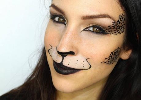 Ci-dessous vous trouverez tous mes maquillages d'Halloween ...