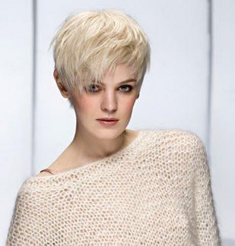 Coupe cheveux gris femme - Coupe courte cheveux blancs ...