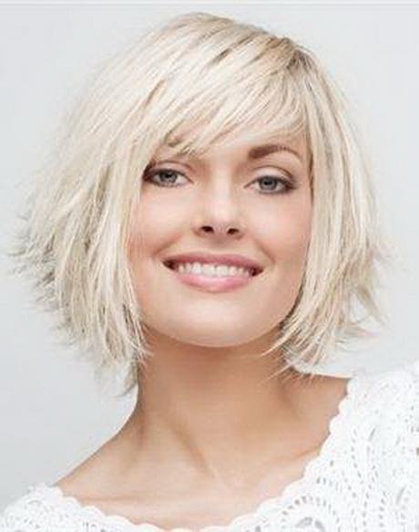 Coupe de cheveux court 2014 visage rond
