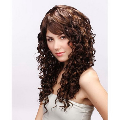 Coupe De Cheveux Femme Long Boucl 233