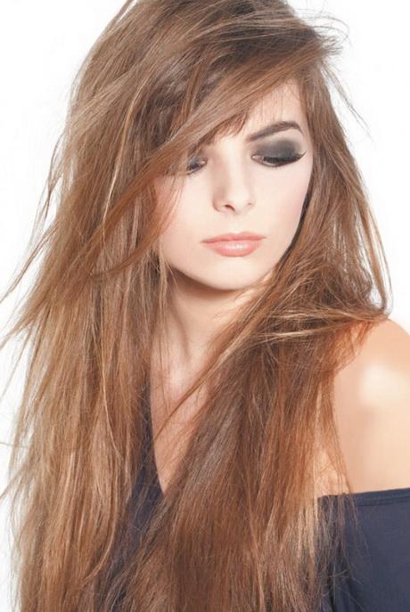 Coupe de cheveux femme long d grad avec frange for Coupe courte femme de cheveux jean claude aubry