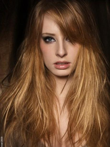 Coupe de cheveux long avec meche