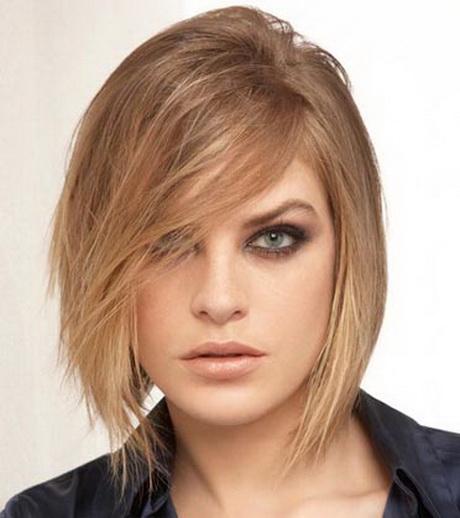 coupe de cheveux pour visage rond