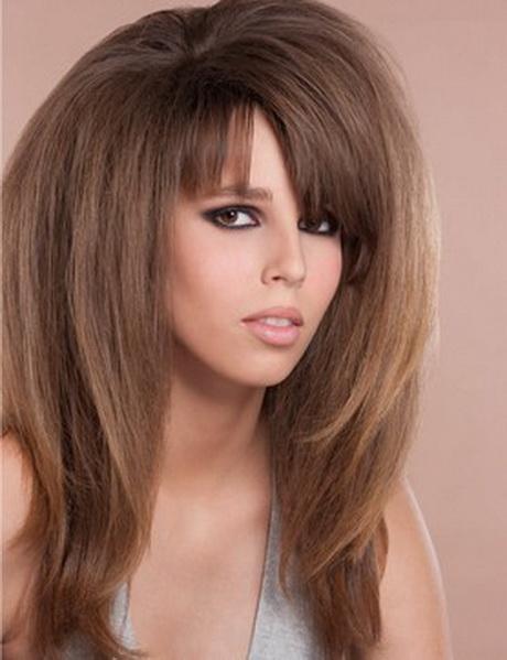 Coupe volume cheveux long - Coupe de cheveux effile sauvage ...