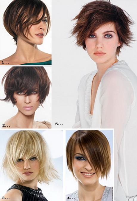 Mannequin cheveux courts - Carre plongeant effile destructure ...