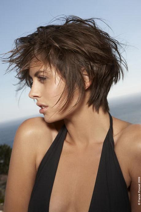 Mod le coiffure courte effil e - Coupe courte effilee 2013 ...
