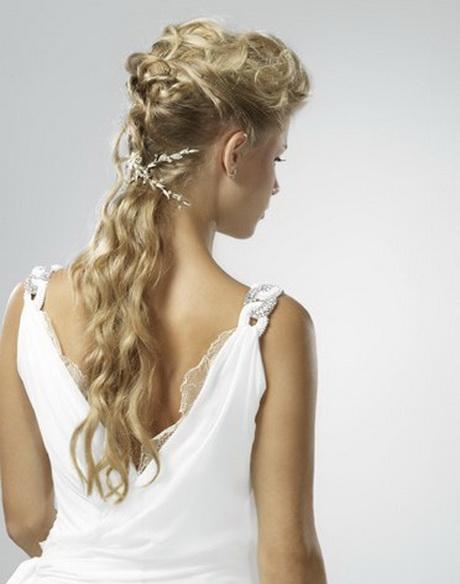 Peignure cheveux - Coiffure semi attache ...