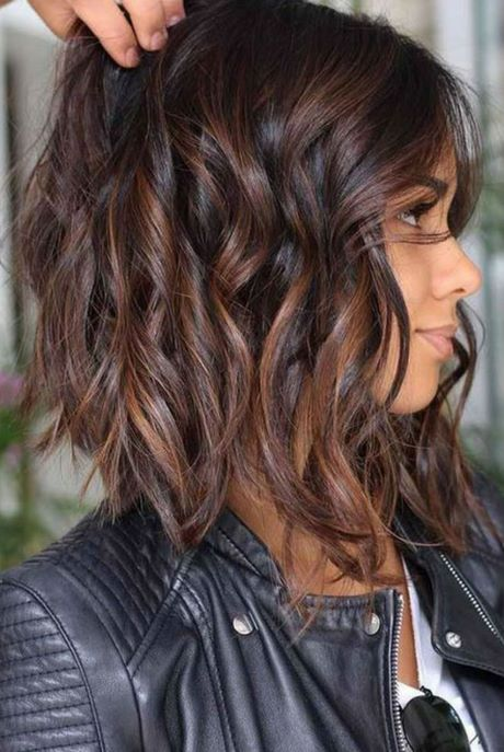 Coupe de cheveux long dégradé 2020