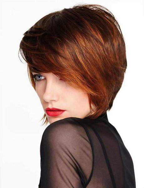 Coupe courte volumineuse